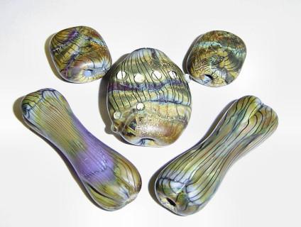 Rebecca McGlynn's Bone Beads