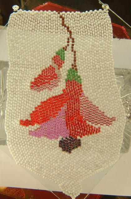 Fuchsia Seed Beads