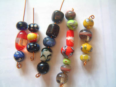 22 miscellaneous beads