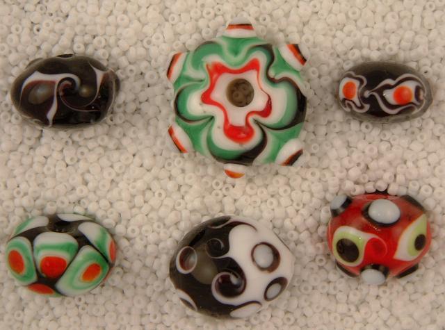 Thursday's Beads