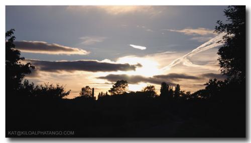 Sunset Over Almondsbury