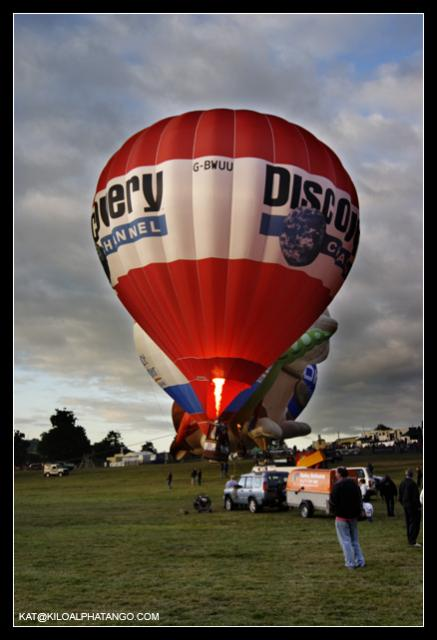 Discovery Channel Balloon