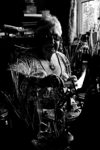 A Glass Artist at Work