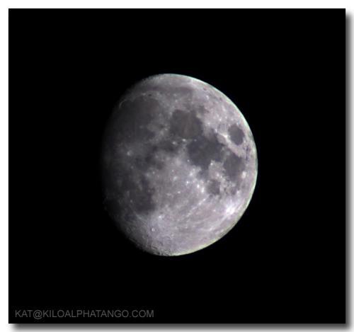 Moon - 12 Nov. 2005: The moon, taken 12 Nov. 2005.