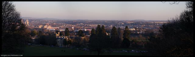 View over Ashton Vale