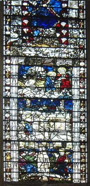 Close-up of one window