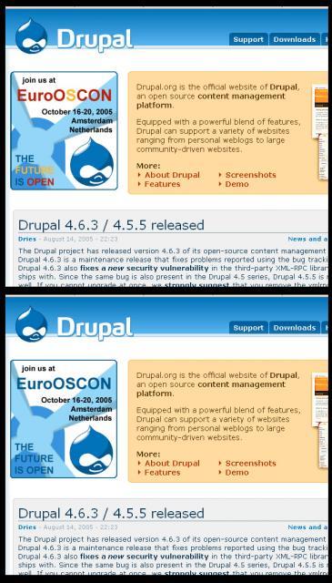 EuroOSCON Drupal Spotlight Versions