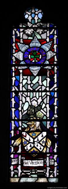 St. Peter's Church Panel 3 Close-up